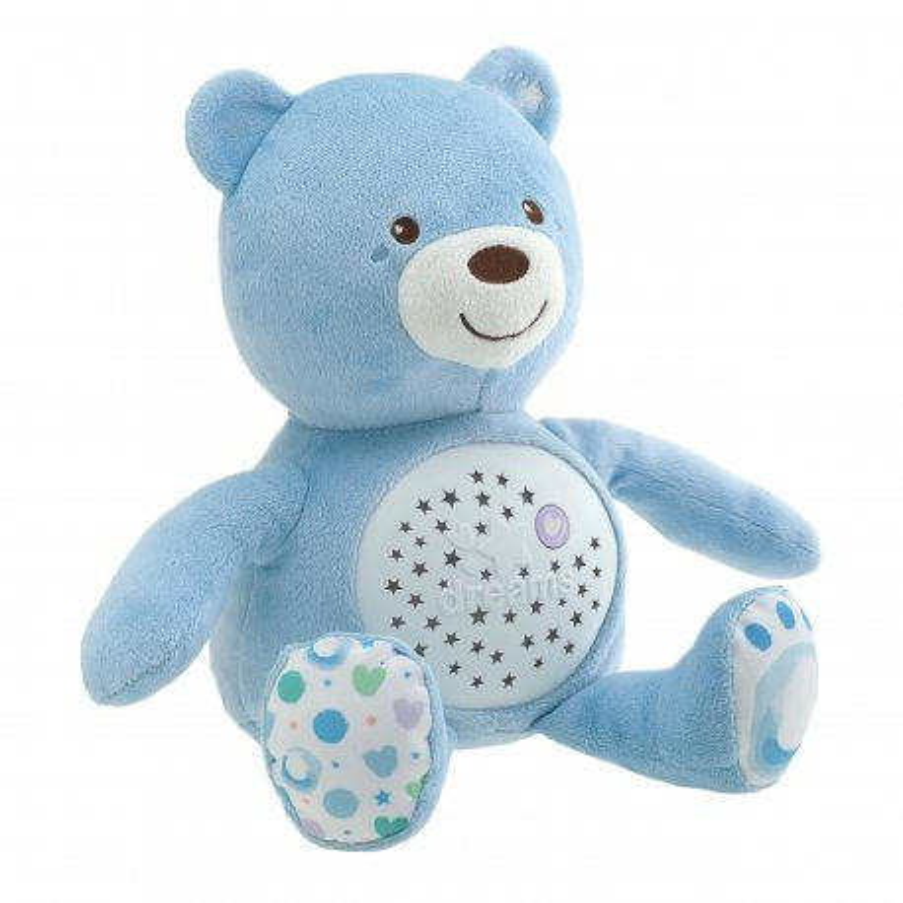 Chicco First Dreams - Miś z projektorem Niebieski 80152