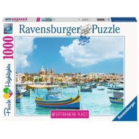 Ravensburger - Puzzle Śródziemnomorska Malta 1000 elem. 149780