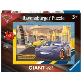 Ravensburger - Auta Puzzle podłogowe McQueen i Cruz 24 elem. 055197