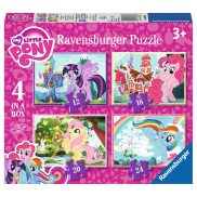 Ravensburger - Puzzle My Little Pony 4w1 068968