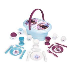 Smoby Kraina Lodu - Koszyk piknikowy z akcesoriami Frozen 2 310511