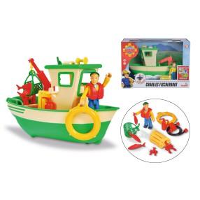 Simba - Strażak Sam Rybacka łódź Charliego + figurka + akcesoria 9251074