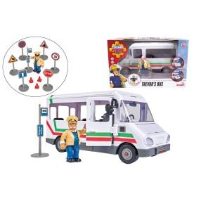 Simba - Strażak Sam Autobus Trevora z figurką i akcesoriami 9251073