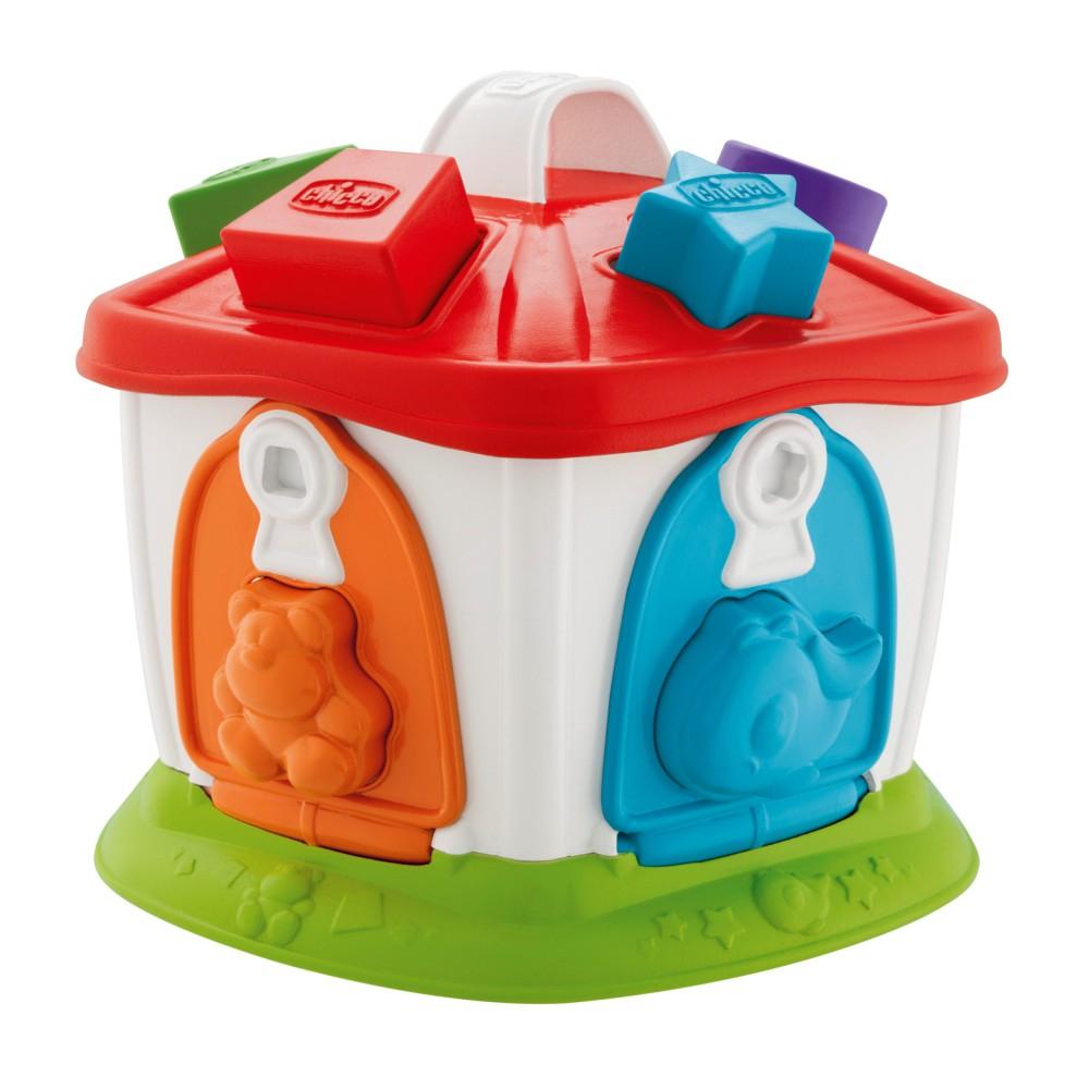 Chicco - Domek zwierząt 2w1 Sorter 96100