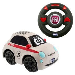 Chicco - Zdalnie sterowany Samochód Fiat 500 Sport RC Biały 72750