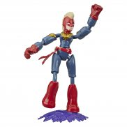 Hasbro Avengers Bend and Flex - Figurka 15 cm Kapitan Marvel E7872