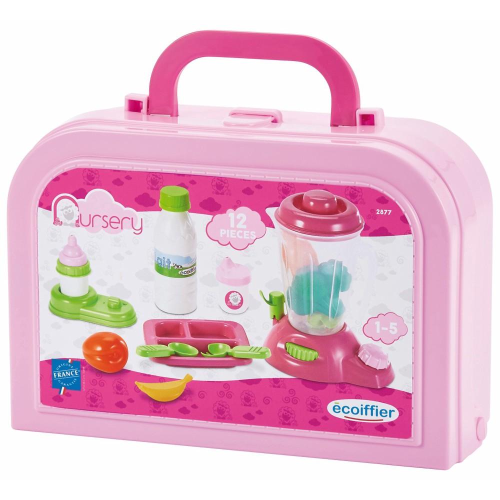 Ecoiffier - Zestaw do karmienia dla lalki w walizce 2877