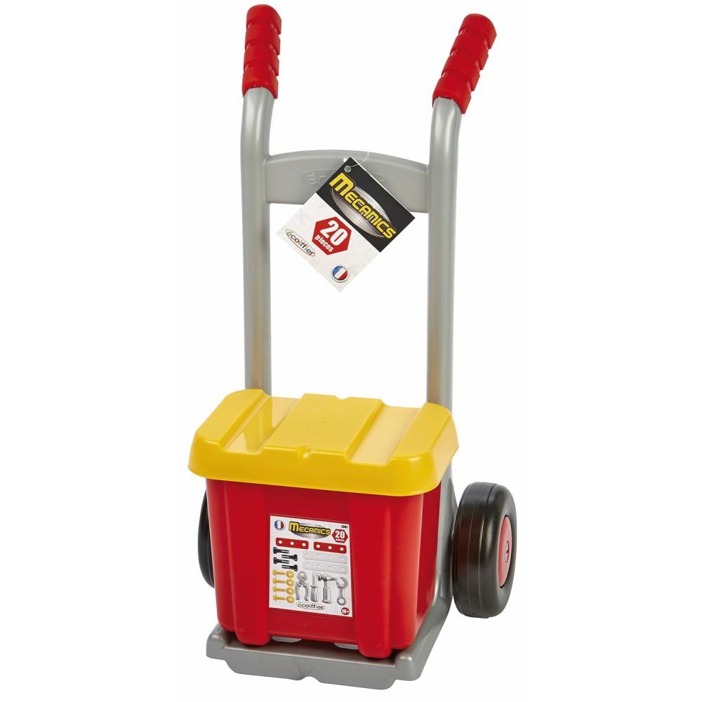 Ecoiffier - Mecanics Wózek transportowy z narzędziami 2381