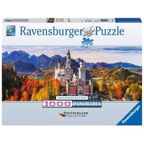 Ravensburger - Puzzle Panorama Zamek Neuschwanstein 1000 el. 151615