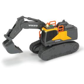Dickie Construction - Koparka Volvo z dźwiękiem i światłem 3723005
