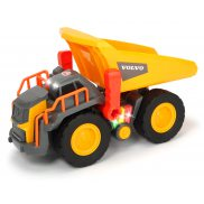 Dickie Construction - Wywrotka Volvo z dźwiękiem i światłem 30 cm 3725004
