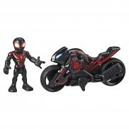 Hasbro Marvel Super Hero Adventures - Figurka z motocyklem Kid Arachnid Web Wheels E6261