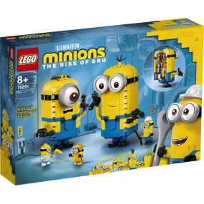 LEGO Minionki - Minionki z klocków i ich gniazdo 75551
