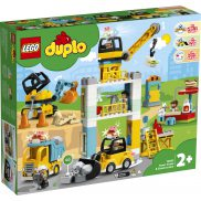 LEGO DUPLO - Żuraw wieżowy i budowa 10933