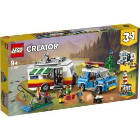 LEGO Creator - Wakacyjny kemping z rodziną 3w1 31108