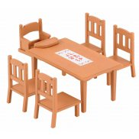 Sylvanian Families - Zestaw do jadalni - stół i krzesła 4506