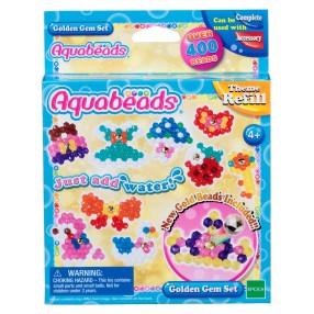 Aquabeads - Zestaw koralików ze złotym klejnocikiem 31048