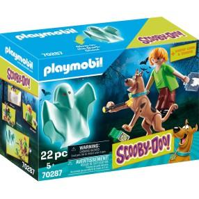 Playmobil - SCOOBY-DOO! Scooby & Shaggy z duchem 70287