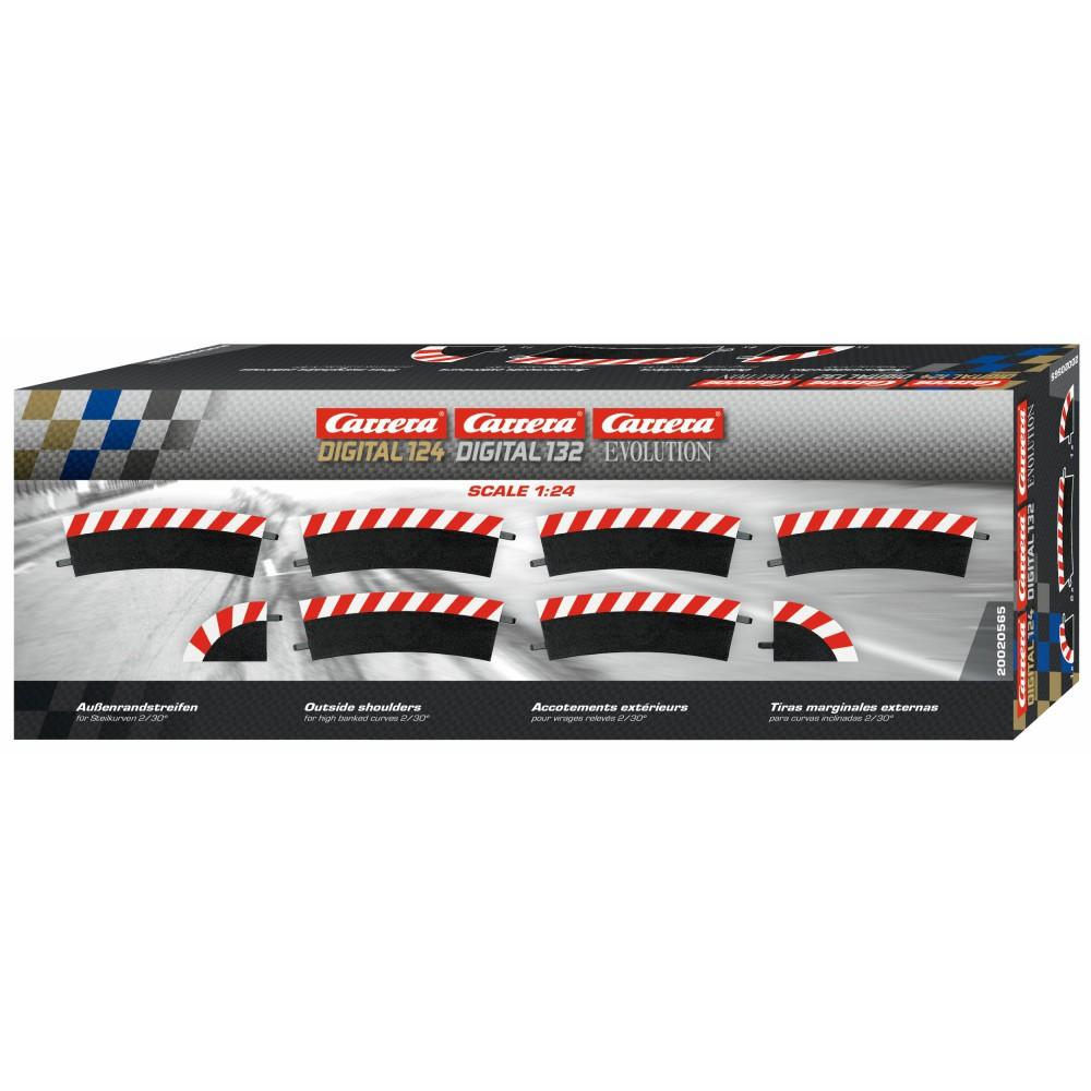Carrera EVO/DIGITAL 124/132 - Zewnętrzne poszerzenie toru zakręt pochyły 2/30 20565