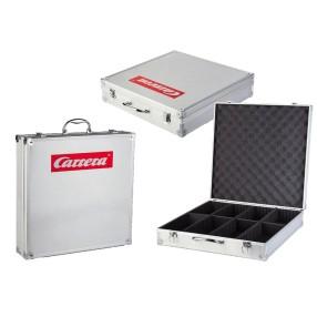 Carrera DIGITAL 124 - Exclusiv aluminiowa walizka na samochody 70461