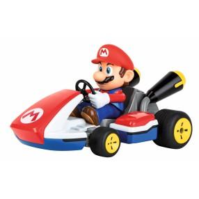 Carrera RC - Mario Kart, Mario - Race Kart z dźwiękiem 2.4GHz 1:16 162107X Digital Proportional