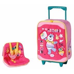 BABY born - Walizka turystyczna z siedziskiem dla lalki 828441