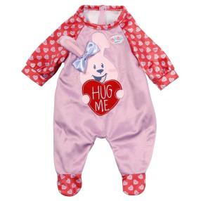 BABY born - Ubranko Pajacyk różowy dla lalki 43 cm 828250 A