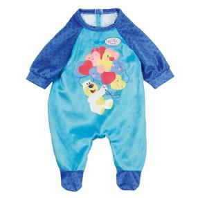 BABY born - Ubranko Pajacyk niebieski dla lalki 43 cm 828250 B