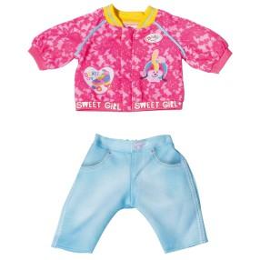 BABY born - Ubranko Kurtka i spodnie dla lalki 43 cm 828212 A