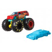 Hot Wheels Monster Trucks - Metalowy pojazd Demo Derby GJF05