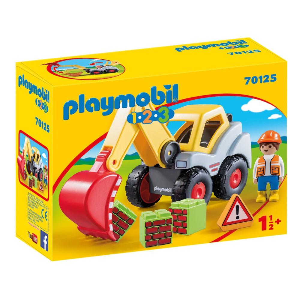 Playmobil - Koparka 70125