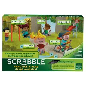 Mattel - Gra Scrabble Practice & Play Język angielski wer. PL GGB32