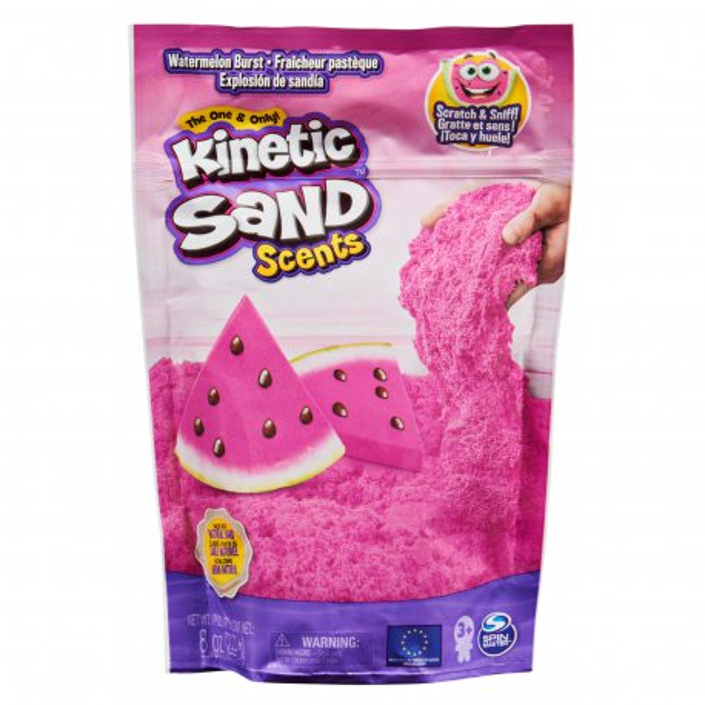 Kinetic Sand - Piasek kinetyczny Smakowite Zapachy 227g Arbuzowa eksplozja 20124653