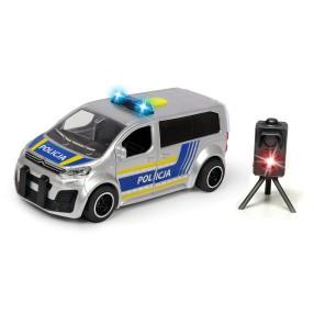 Dickie SOS - Samochód policyjny Citroen SpaceTourer 1:32 15 cm Światło Dźwięk + Radar 3713010