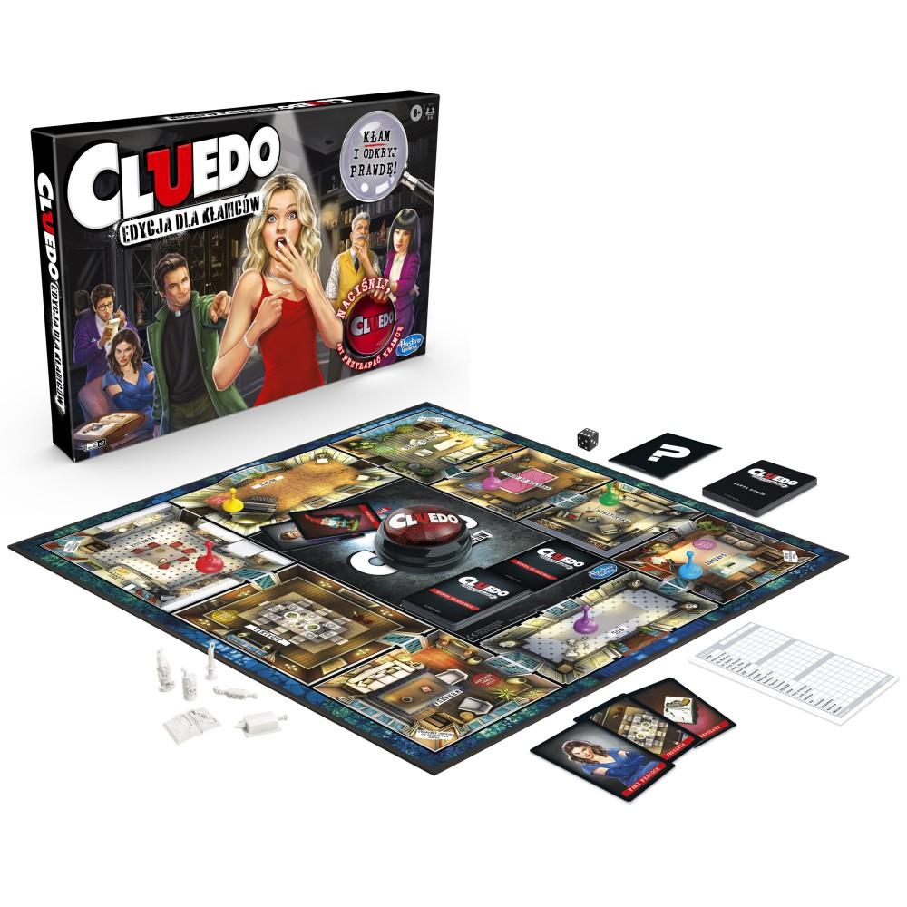 Hasbro - Gra Cluedo Edycja dla Kłamców E9779