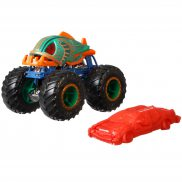 Hot Wheels Monster Trucks - Metalowy pojazd Piran-Ahhhh GJD86