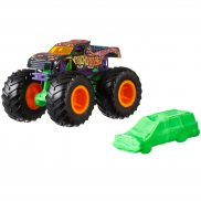 Hot Wheels Monster Trucks - Metalowy pojazd PsychoDelic GJF39