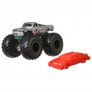 Hot Wheels Monster Trucks - Metalowy pojazd V8 Bomber GJF41