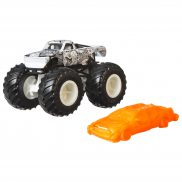 Hot Wheels Monster Trucks - Metalowy pojazd Chassis Snapper GMR88