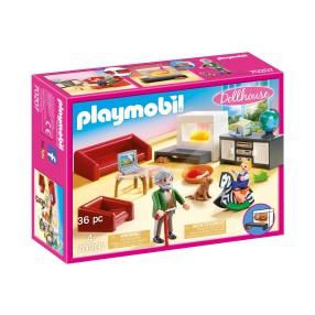 Playmobil - Przytulny salon 70207