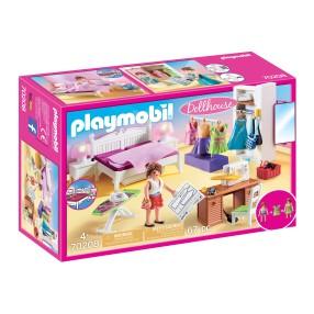 Playmobil - Sypialnia z kącikiem do szycia 70208