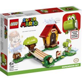LEGO Super Mario - Yoshi i dom Mario - zestaw rozszerzający 71367