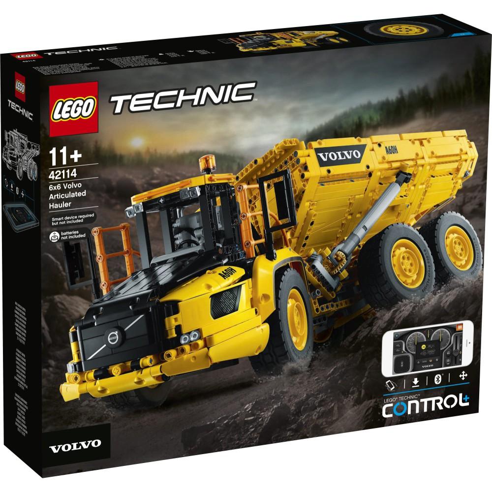 LEGO Technic - Wozidło przegubowe Volvo 6x6 42114