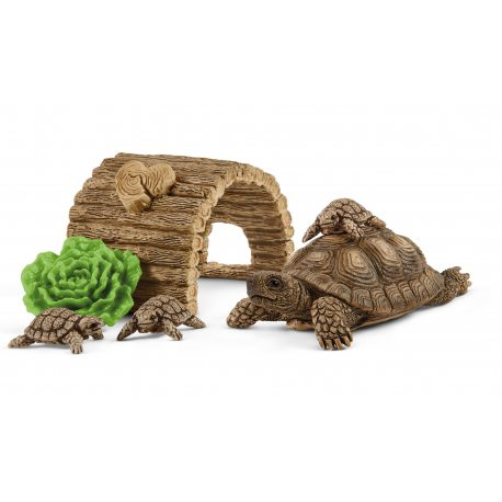 Schleich - Dom dla żółwi 42506