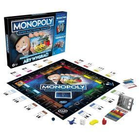 Hasbro - Gra Monopoly Super Electronic Banking Wersja Polska E8978