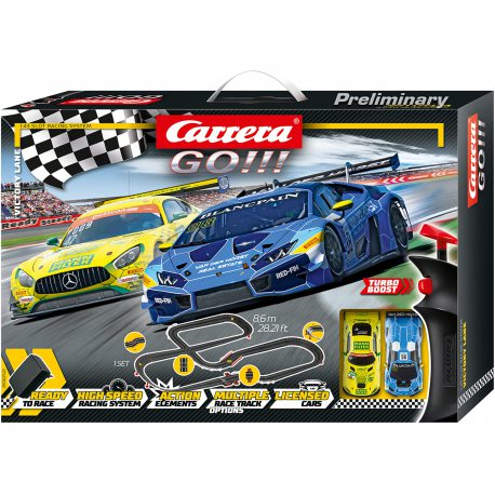 Carrera GO!!! - Victory Lane 62522