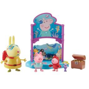 TM Toys Świnka Peppa - Zestaw Podwodny Świat 3 Figurki + Akcesoria 07172