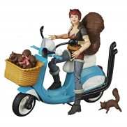 Hasbro Marvel Legends - Figurka 15 cm Unbeatable Squirrel Girl + Skuter i akcesoria E8600