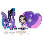 Spin Master Hatchimals Pixies Riders - Laleczka Black Glitter Lily i Seastallion Glider 20127520
