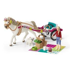 Schleich - Powóz na wielki pokaz koni 42467